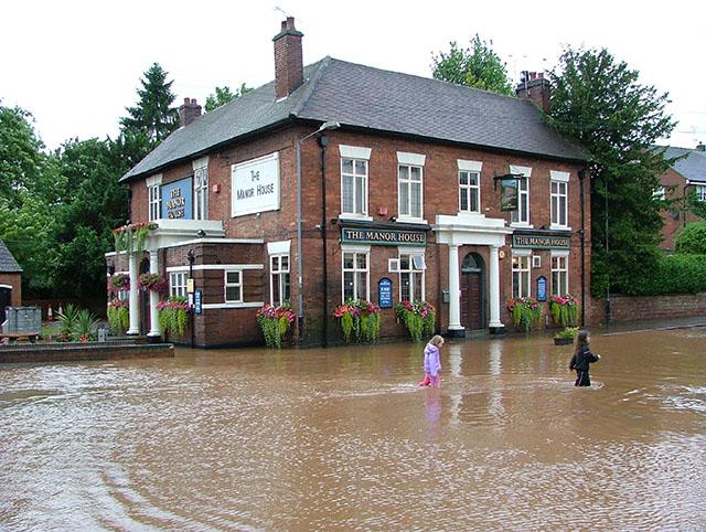 sikring mod oversvømmelse